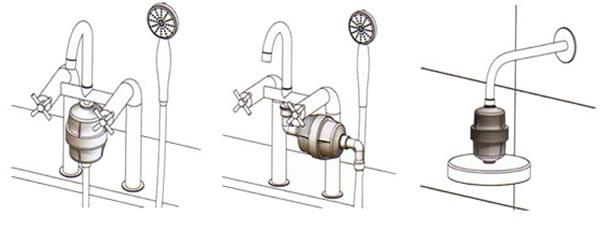 Filtro de ducha instalacion