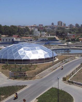 Depuradora agua Málaga